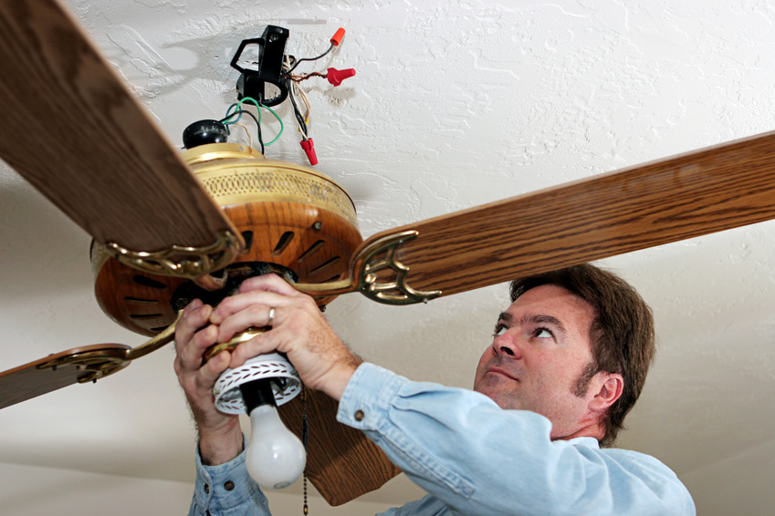 How to Install a Ceiling Fan & 5 places Not to Install One – Belco Inc.