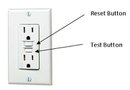 Resetting GFCI Receptacle