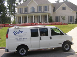 Belco Electric Service Van